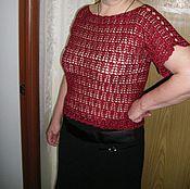 """Одежда ручной работы. Ярмарка Мастеров - ручная работа  Блуза """"Ажуры лета"""". Handmade."""