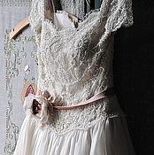 Одежда ручной работы. Ярмарка Мастеров - ручная работа Свадебное платье в старо-английском стиле. Handmade.