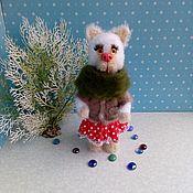 Мягкие игрушки ручной работы. Ярмарка Мастеров - ручная работа Мягкие игрушки: Кошка. Handmade.