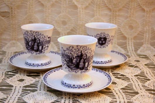 Винтажная посуда. Ярмарка Мастеров - ручная работа. Купить 1 пара Кубок для грога, кофейная пара, Mitterteich Германия. Handmade.