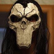 Одежда ручной работы. Ярмарка Мастеров - ручная работа Маска Дарксайдерс С волосами Маска Смерти Darksiders-2 маска Реплика. Handmade.