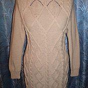 Одежда ручной работы. Ярмарка Мастеров - ручная работа Платье вязаное спицами. Handmade.