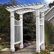 Дача и сад handmade. Livemaster - original item GARDEN arch, pergola in the VICTORIAN STYLE model no. №5. Handmade.