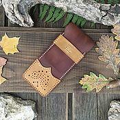 Канцелярские товары handmade. Livemaster - original item Canisters: Leather pencil case for pens. Handmade.