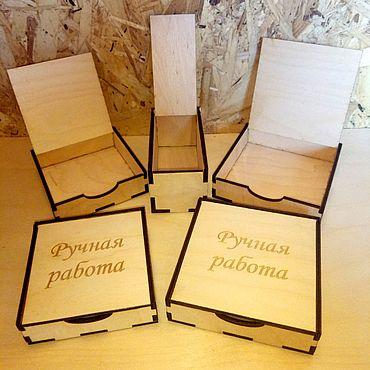 Материалы для творчества ручной работы. Ярмарка Мастеров - ручная работа Коробка для упаковки, любых размеров и форм с нанесением логотипа. Handmade.