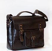 Мужская сумка ручной работы. Ярмарка Мастеров - ручная работа Мужской кожаный планшет. Handmade.