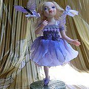 Куклы и игрушки ручной работы. Ярмарка Мастеров - ручная работа Июлинка -феюшка - покровительница бабочек). Handmade.