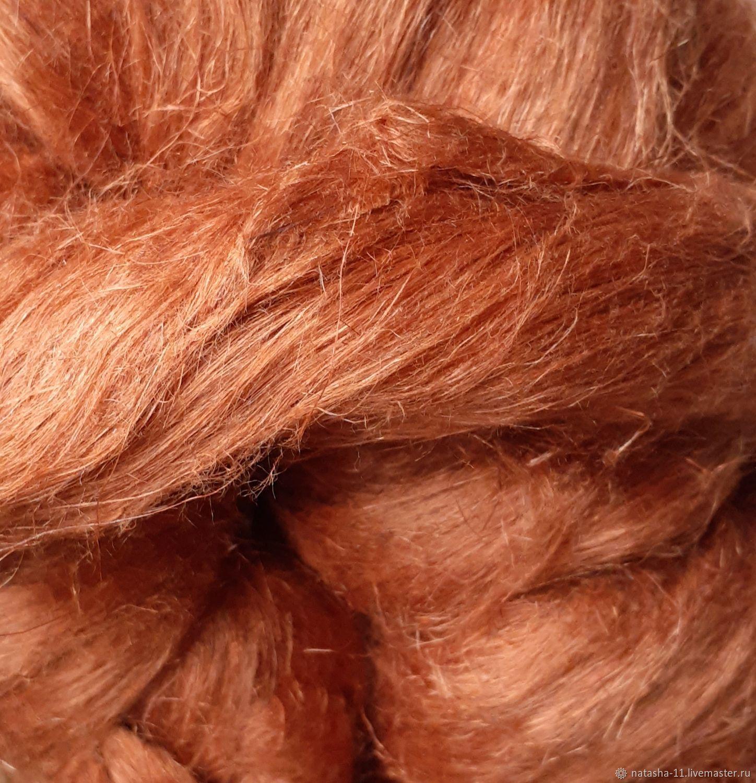 Волокна льна Италия  Rust   10 гр, Волокна, Белореченск,  Фото №1