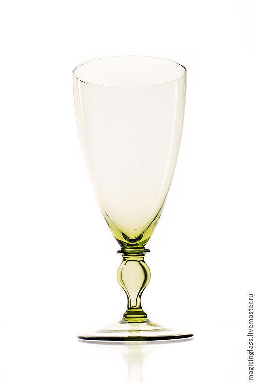 Бокалы, стаканы ручной работы. Ярмарка Мастеров - ручная работа. Купить Коллекционное историческое стекло. Бокал № 117.. Handmade.