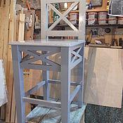 Для дома и интерьера ручной работы. Ярмарка Мастеров - ручная работа стул барный в стиле - прованс,кантри.. Handmade.