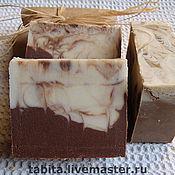 """Косметика ручной работы. Ярмарка Мастеров - ручная работа Натуральное мыло """"Два шоколада"""". Handmade."""