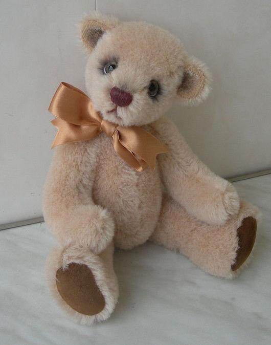 Мишки Тедди ручной работы. Ярмарка Мастеров - ручная работа. Купить Мишка Элли. Handmade. Мишка-тедди, мех лама