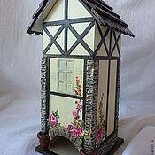 Для дома и интерьера ручной работы. Ярмарка Мастеров - ручная работа Чайный домик РОЗОВЫЕ КУСТЫ. Handmade.