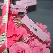 Подарки к праздникам ручной работы. Ярмарка Мастеров - ручная работа Сладкий букет с пожеланиями. Handmade.