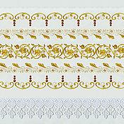 """Рушники ручной работы. Ярмарка Мастеров - ручная работа Рушник """"Золотой"""" из 100% льна. Handmade."""