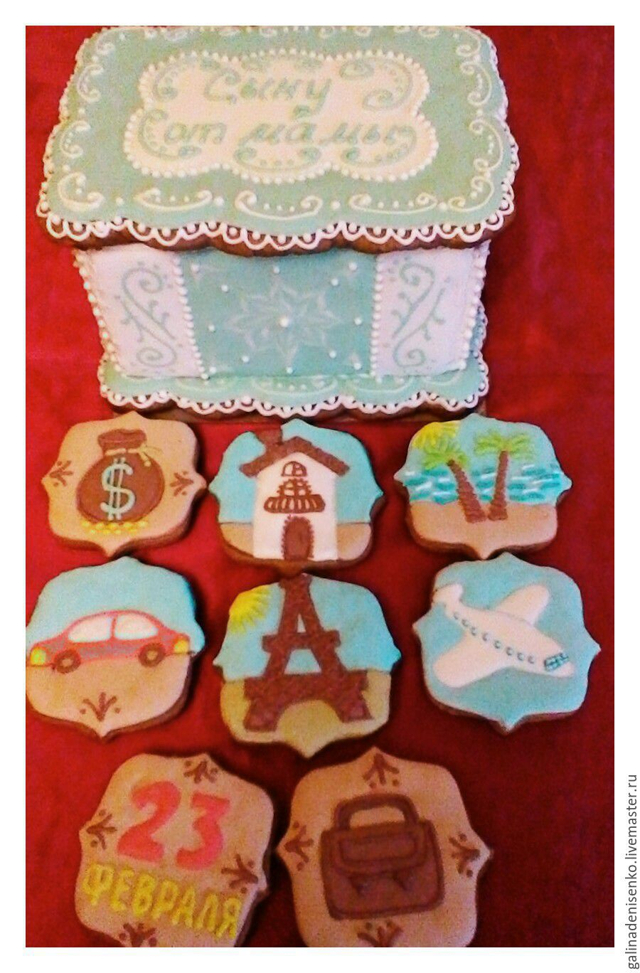 Gingerbread box, Gingerbread Cookies Set, Rostov-on-Don,  Фото №1