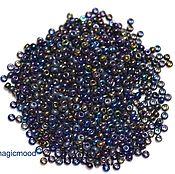 Материалы для творчества handmade. Livemaster - original item 10 grams of 10/0 seed Beads, Czech Preciosa 59205 Premium. Handmade.