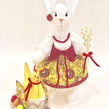 Куклы и игрушки ручной работы. Ярмарка Мастеров - ручная работа Пасхальная композиция.. Handmade.