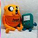 Сказочные персонажи ручной работы. Ярмарка Мастеров - ручная работа. Купить Adventure Time Джейк пес (Jake the Dog). Handmade.