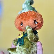 Куклы и игрушки ручной работы. Ярмарка Мастеров - ручная работа Тыква из серии Веселые тыковки. Тедди тыква осень. Handmade.