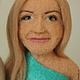 Портретные куклы ручной работы. Портретные куклы Пара в бирюзовом. Диана Грант (zumzum-latvija). Ярмарка Мастеров. Подарок на свадьбу
