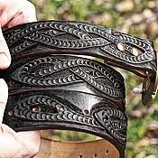 Ремни ручной работы. Ярмарка Мастеров - ручная работа Ремень из кожи ручной работы. Handmade.