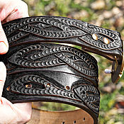 handmade. Livemaster - original item strap leather handmade. Handmade.