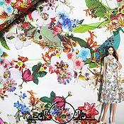 """Материалы для творчества handmade. Livemaster - original item Джинс Blumarine """"Аврора"""" итальянские ткани. Handmade."""