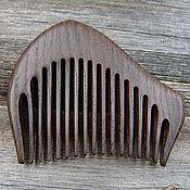 Сувениры и подарки handmade. Livemaster - original item The comb is made of bog oak. Handmade.