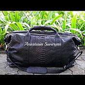 Сумки и аксессуары handmade. Livemaster - original item bag of genuine Python leather. Handmade.