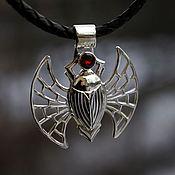 Украшения handmade. Livemaster - original item The Suspension Is The Scarab. Handmade.