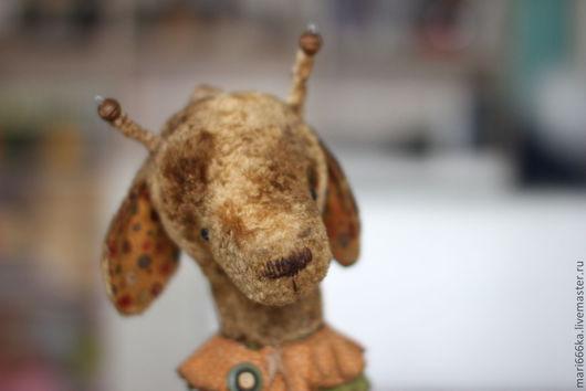 Мишки Тедди ручной работы. Ярмарка Мастеров - ручная работа. Купить Жирафик для Жени.. Handmade. Желтый, тедди мишка, опилки