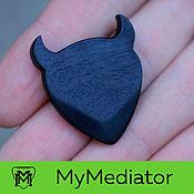 Музыкальные инструменты handmade. Livemaster - original item The mediator from the wood of Hornbeam Black: Demonoid. Handmade.