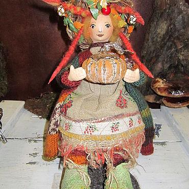 Dolls & toys handmade. Livemaster - original item Doll: Feechka Autumn. Handmade.