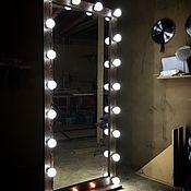 Для дома и интерьера ручной работы. Ярмарка Мастеров - ручная работа Гримерное зеркало DARK WOOD.180/80.. Handmade.