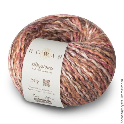 Пряжа Silkystones, цвет 086.