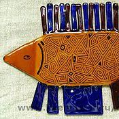 Картины и панно ручной работы. Ярмарка Мастеров - ручная работа Большая рыба. Handmade.