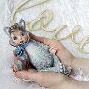 Куклы и игрушки ручной работы. Ярмарка Мастеров - ручная работа Маврик тедди-долл. Handmade.