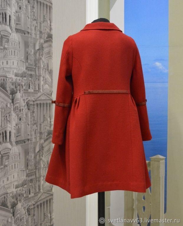 Леди совершенство  Пальто демисезонное из кашемира