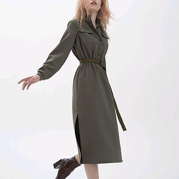 Одежда ручной работы. Ярмарка Мастеров - ручная работа Платье модель KS10185. Handmade.