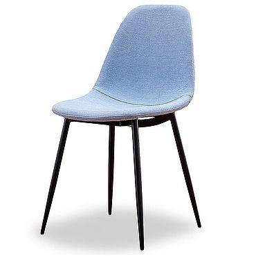 Мебель ручной работы. Ярмарка Мастеров - ручная работа Стул Антверпен голубой/черный. Handmade.