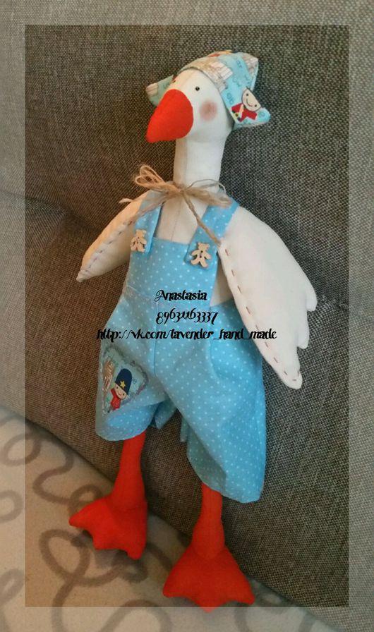Куклы Тильды ручной работы. Ярмарка Мастеров - ручная работа. Купить Кукла в стиле Тильда  Гусь. Handmade. Тильда, кукла