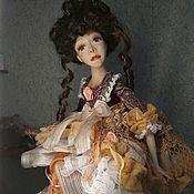 Куклы и пупсы ручной работы. Ярмарка Мастеров - ручная работа Кукла  будуарная Андре. Handmade.