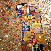 Картины и панно handmade. Livemaster - original item Gold painting Ecstasy. The Tree of Life, Gustav Klimt. Handmade.