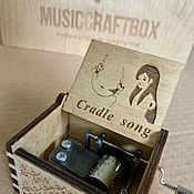 Музыкальные инструменты handmade. Livemaster - original item Music box cradle song lullaby. Handmade.