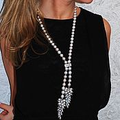 Украшения handmade. Livemaster - original item Pearl with pendant