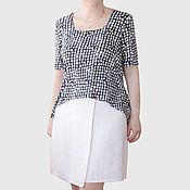 Одежда handmade. Livemaster - original item Top knit short sleeve. Handmade.