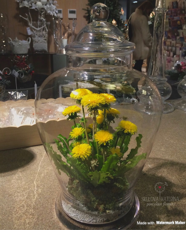 Одуванчики в волшебной лампе аладдина, Композиции, Москва,  Фото №1