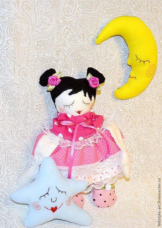 Человечки ручной работы. Ярмарка Мастеров - ручная работа. Купить Сонные малютки для деток (комплект игрушек для сна). Handmade. Сплюшки