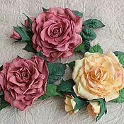 Цветы и флористика ручной работы. Ярмарка Мастеров - ручная работа Роза из фоамирана. Handmade.